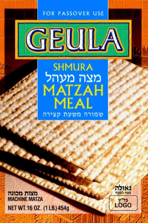 Geula Shmura Matzoh Meal 1Lb