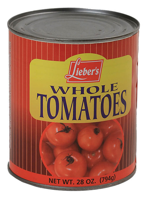 Lieber's Whole Tomatoes 28 oz.