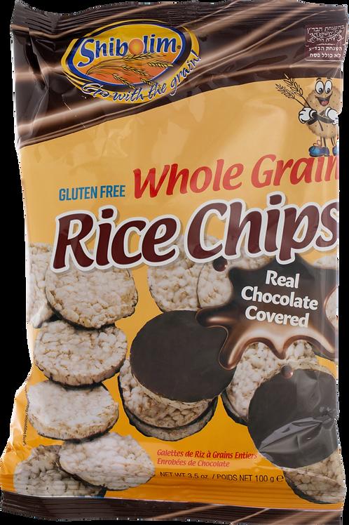 Shibolim Chocolate Rice Chips - Kitniyot 3.5oz