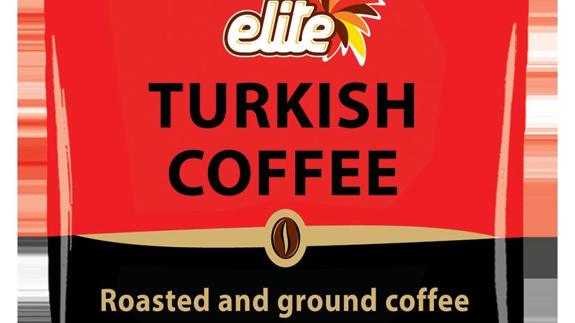 Elite Turkish Ground Roasted Coffee Bag 3.5oz
