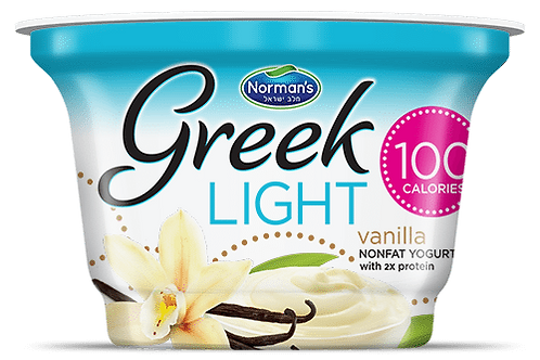 Norman's Greek Light - Vanilla 5.3 Oz.