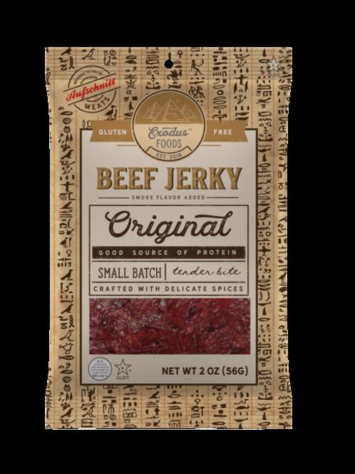 Exodus Beef Jerky Original 2oz