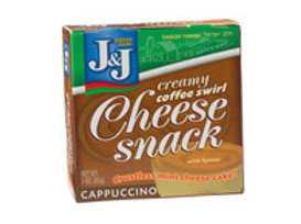J&J  Cheese Snack Cappuccino  3oz