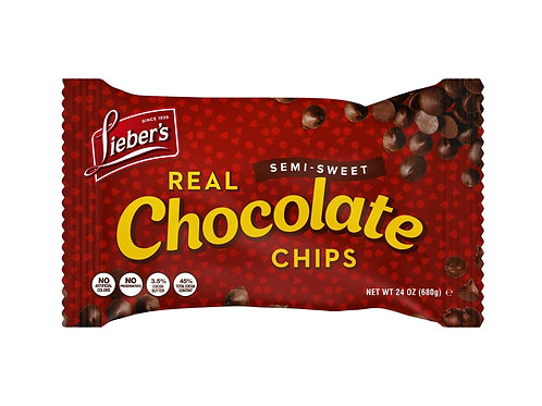 Lieber's Semisweet Chocolate Chips 9 oz.