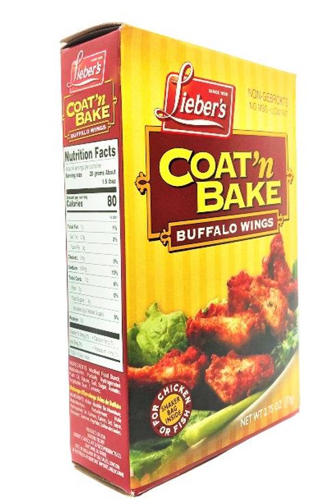 Lieber's Coat-n-Bake (Buffalo wings) 2.75 oz.