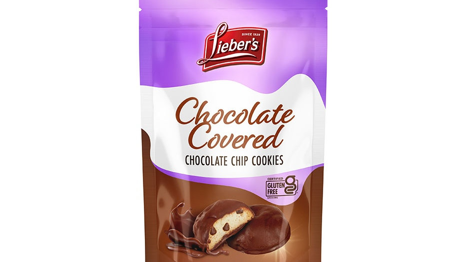 Lieber's Chocolate Covered Mini Chocolate Chip Cookies 3 oz