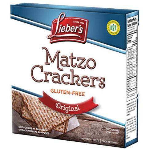 Lieber's Gluten Free Matzo Original 10.5 oz