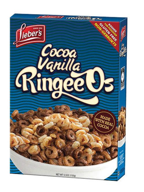 Lieber's Cocoa & Vanilla Ringeeos 5.5 oz.
