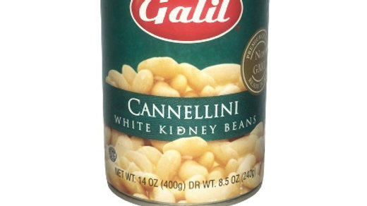 Galil Cannellini Beans- White Kidney Beans 14 oz
