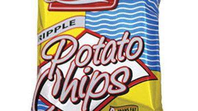 Lieber's Potato Chips (Rippled) .75 oz.