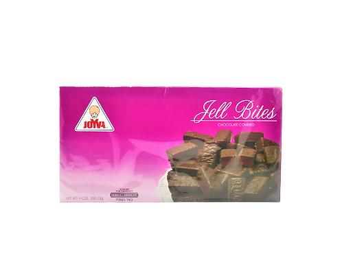 Joyva Raspberry Jell Bites 9 Oz