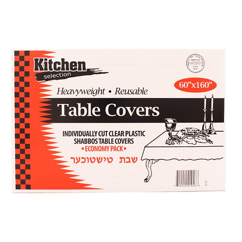 """K.C. Table Covers 60""""x160"""""""