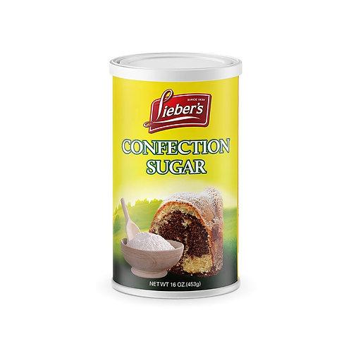 Lieber's Confection Sugar (Can) 16 oz.