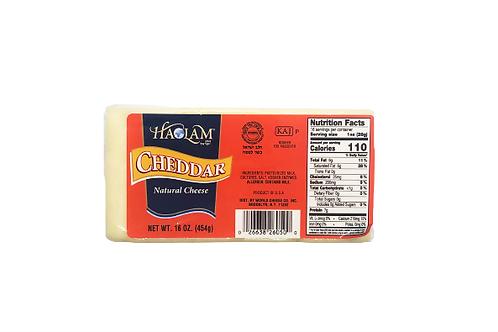 Haolam Cheddar White Brick 16oz