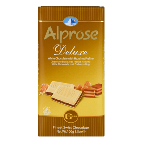Alprose Deluxe White Hazelnut 3.5oz