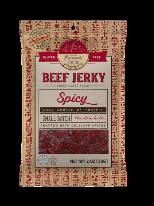 Exodus Beef Jerky Spicy 2oz
