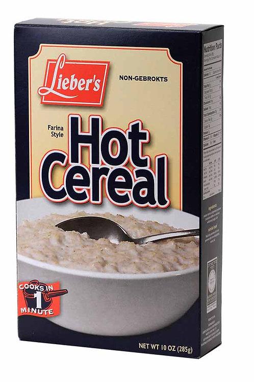 Lieber's Hot Cereal (Regular) 10 oz
