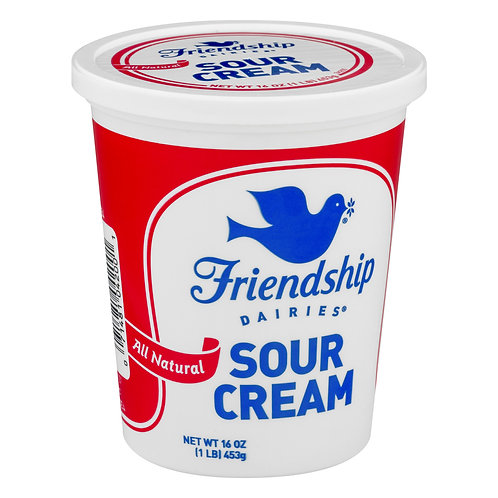 Friendship Sour Cream 16oz