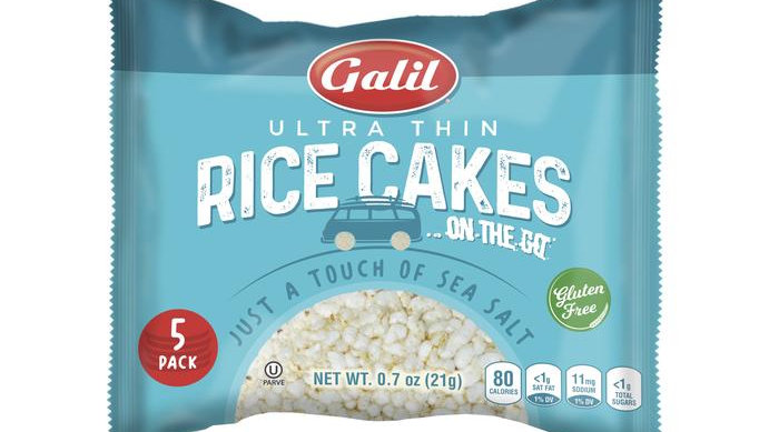 Galil Rice Cakes 2go Sea Salt 0.9 oz