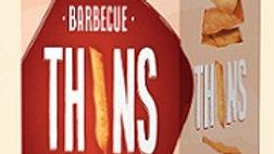 Lieber's Thins Crackers (BBQ) 2.8 oz.