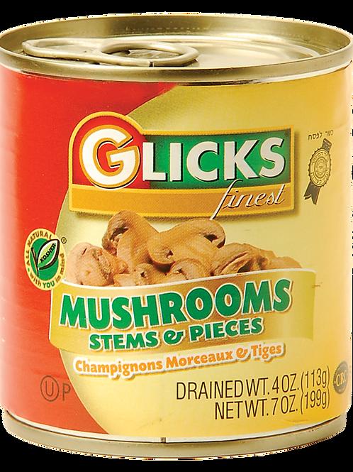Glicks Mushrooms S&P 4oz