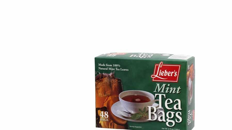 Lieber's Mint Tea Bags 48ct