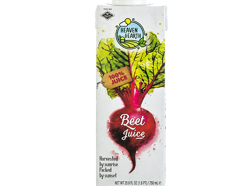 Heaven&Earth Juice Beet 750ml