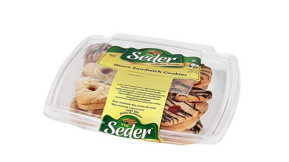 Seder Heart Sandwich Cookies 8 oz.