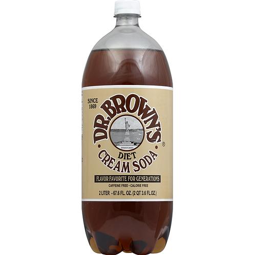 Dr Brown Cream Soda Diet 2L