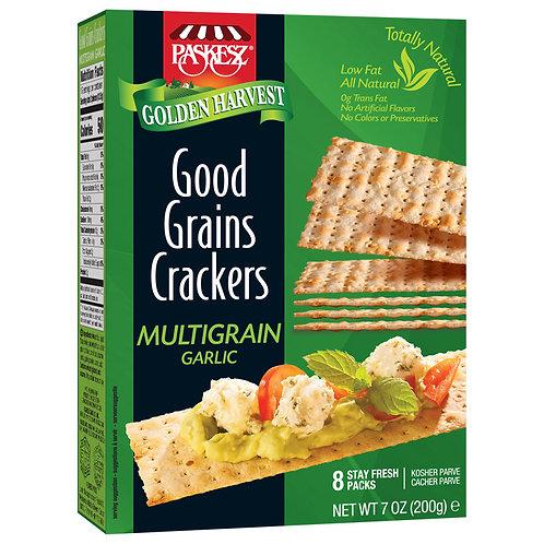Good Grains Crackers Multigrain Garlic 7oz