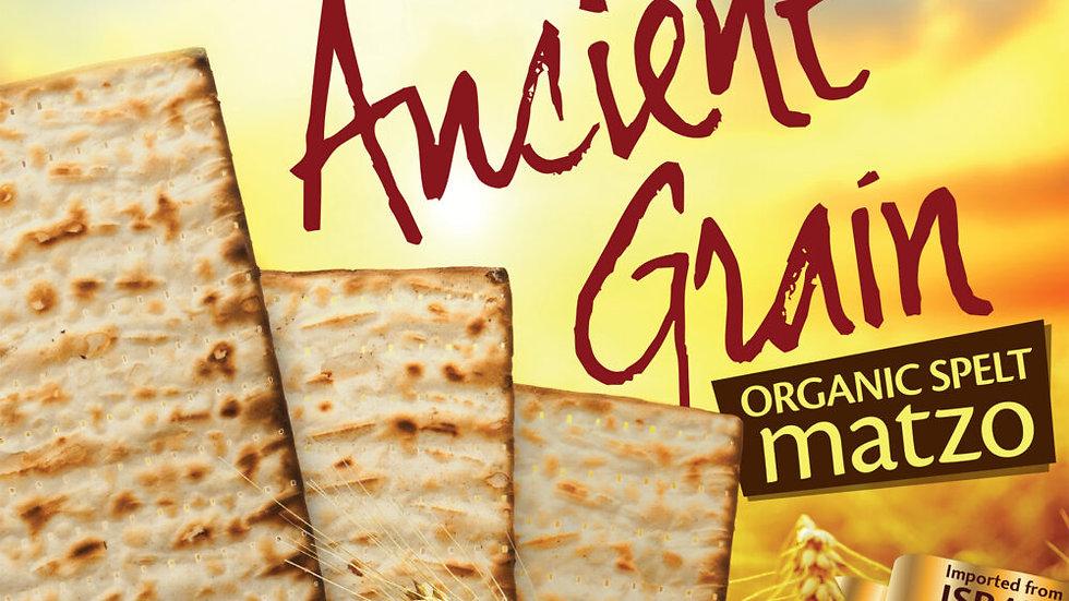 Yehuda Ancient Grain Organic Spelt Matzo 10.5oz