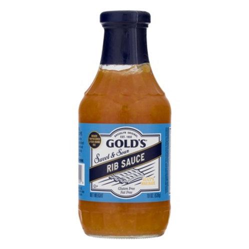 Golds Saucy Rib Sauce 19 Oz