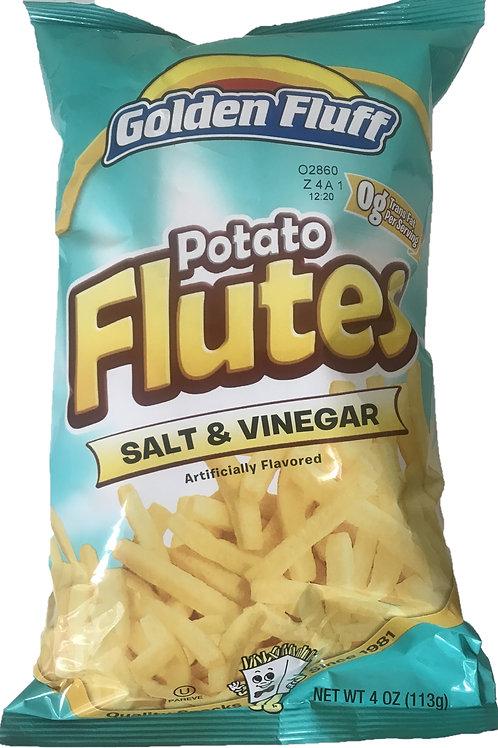G.F. Potato Flutes Salt&Vinegar 4oz