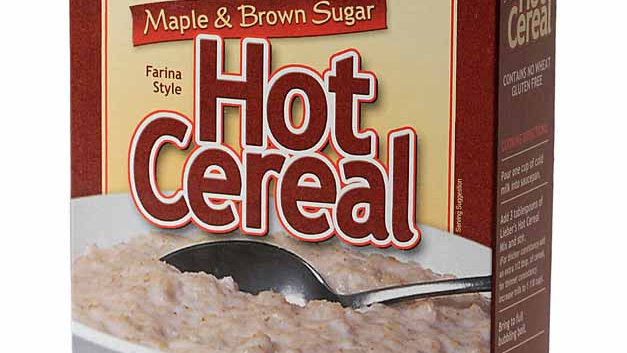 Lieber's Hot Cereal(Maple & Brown Sugar) 10 oz.