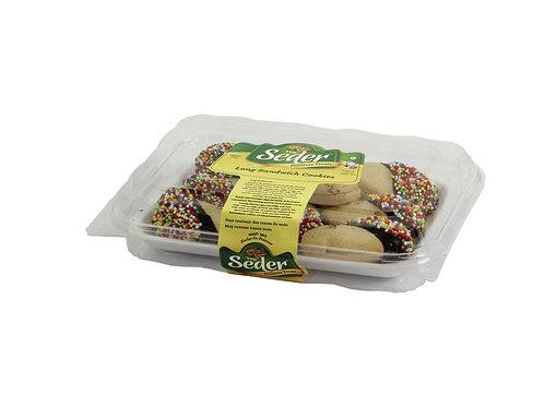 Seder Long Sandwich Cookies 8 oz.