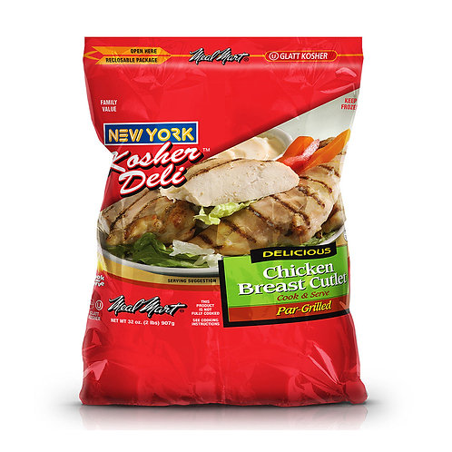Meal Mart Grilled Chicken Cutlets 32oz