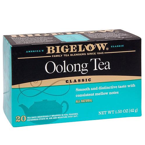 Bigelow Chineese Oolong Tea 20 Ct