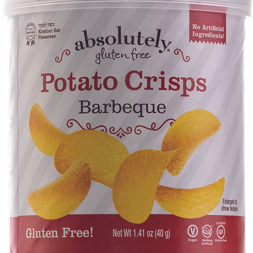 Absolutely Bbq Mini Stacked Potato Chips 1.41oz