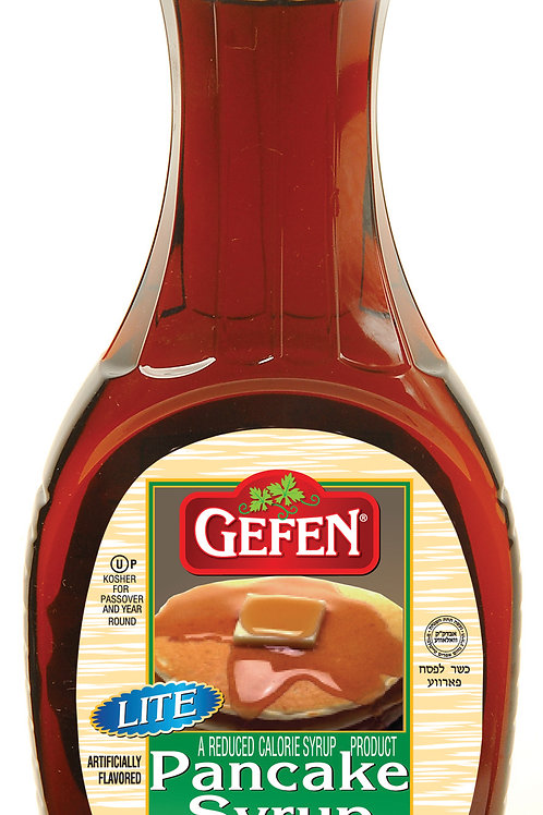 Gefen Lite Pancake Syrup 24oz