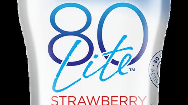 Norman's 80Lite Strawberry Yogurt 6 Oz.