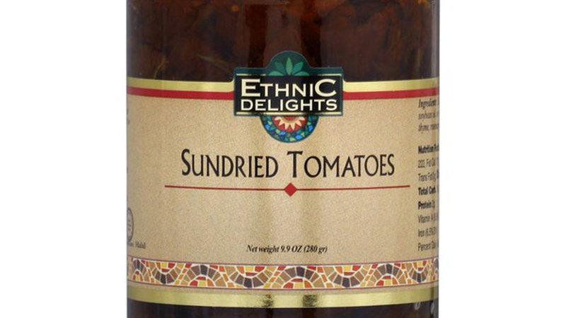 Ethnic Delights Sun Dried Tomatoes Kitniot 9.9 Oz