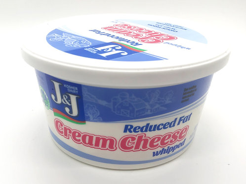 J&J  Whipped Light Cream Cheese  8oz