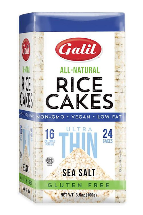 Galil Ultra Thin Rice Cakes Sea Salt 3.5 oz