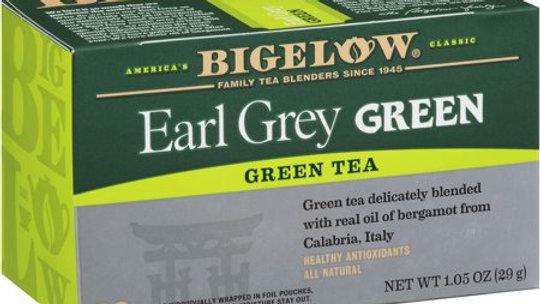 Bigelow Earl Grey Green Tea 20 Ct