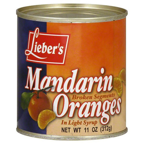 Lieber's Mandarin Orange(Broken) 11oz.