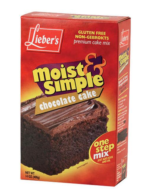 Lieber's Chocolate Cake Mix 14 oz.
