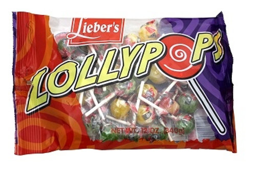 Lieber's Ball Lollypops 12 oz.