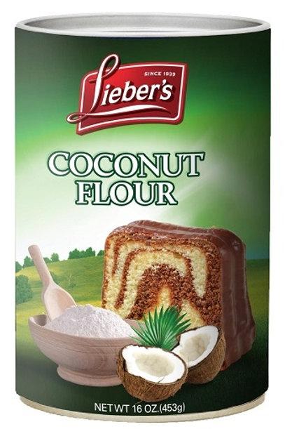 Lieber's Coconut Flour 16 oz.