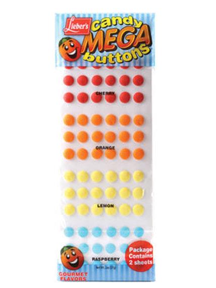 Lieber's Mega  Candy Buttons 2 oz.