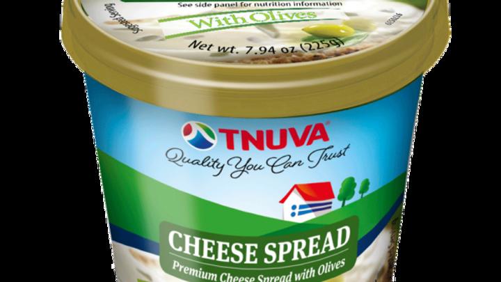 Tnuva Cream Cheese with Olive 225gr